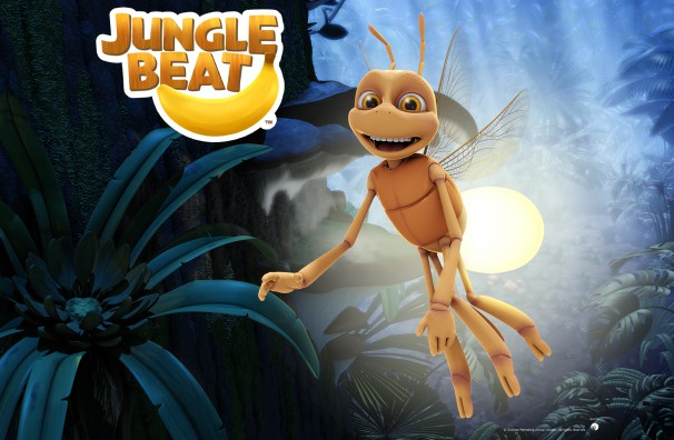 Downloadable Jungle Beat wallpaper of CGI Character Firefly at night