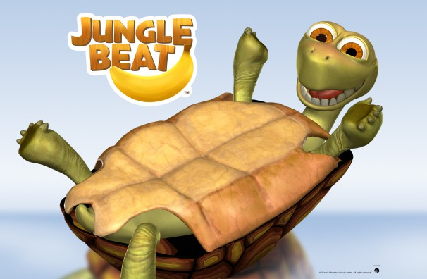 Free Jungle Beat wallpapers, desktop, backgrounds. A fun, family, quality, classic CGI animated series with a whole jungle of fun. Download free tortoise on a reflective background.