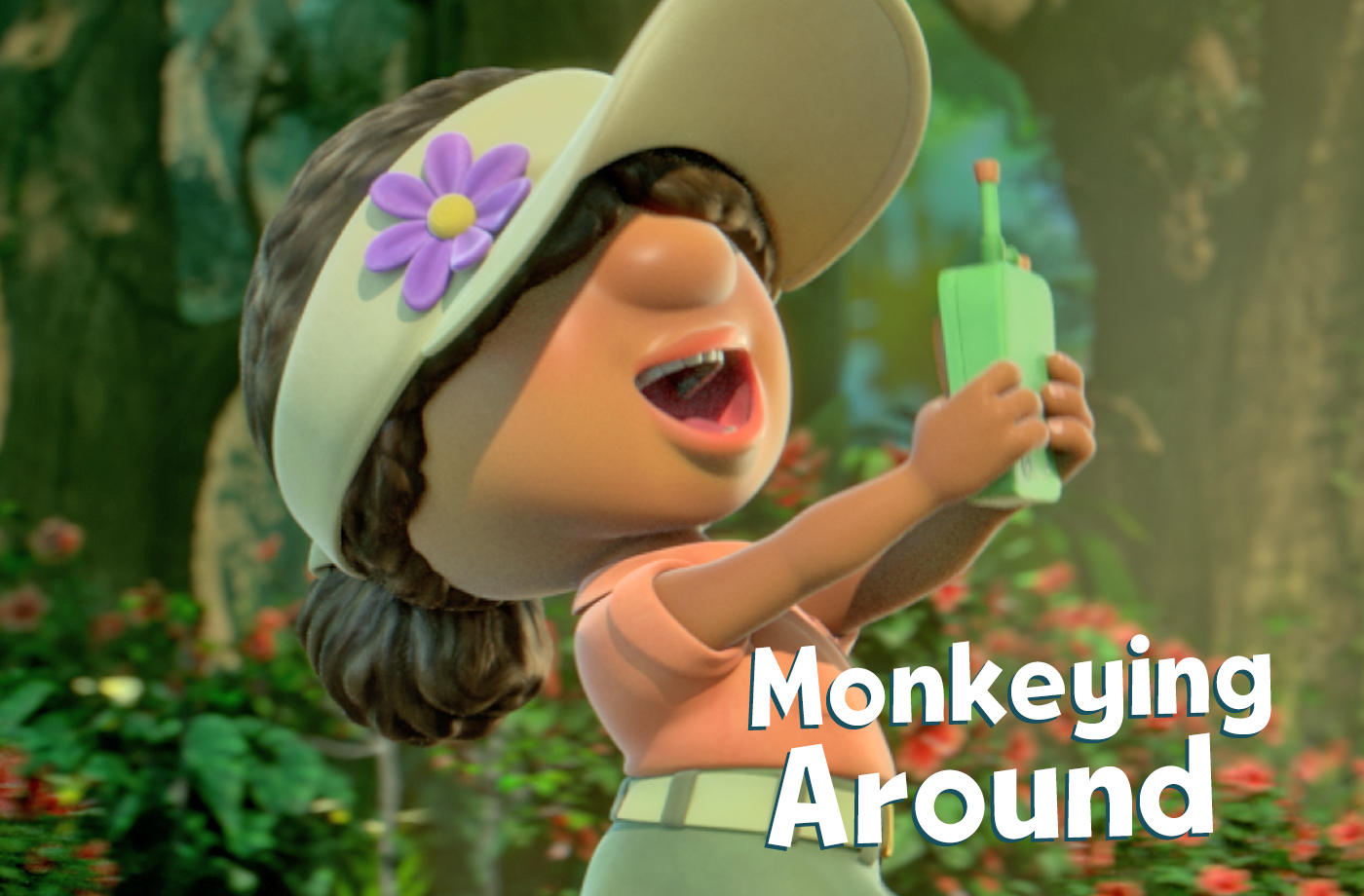 The Explorers hunt for Monkey, but get deeply confused by their own walkie talkies.